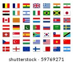 mix flags | Shutterstock . vector #59769271