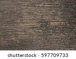 wood texture is unique | Shutterstock . vector #597709733