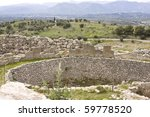Small photo of Tomb of Aegisthus - lover of Queen Clytemnestra, wife of Agamemnon - in Mycenae, Greece