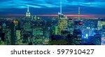 new york   december 20  2013 ... | Shutterstock . vector #597910427