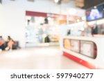 abstract blur and bokeh... | Shutterstock . vector #597940277