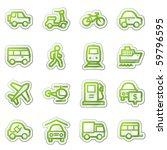 Transport Web Icons  Green...