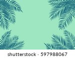 Beautifil Palm Tree Leaf ...
