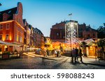 riga  latvia   july 1  2016 ... | Shutterstock . vector #598088243