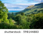 Sweeping Valley In The Glens O...