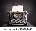 Vintage Black Typewrite With...