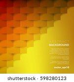 abstract vector background.... | Shutterstock .eps vector #598280123