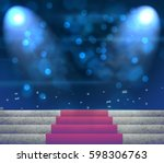 stage lighting background 3d | Shutterstock . vector #598306763