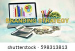 business concept images with... | Shutterstock . vector #598313813
