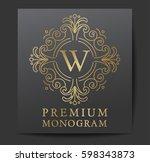 template for branding and logo...   Shutterstock .eps vector #598343873