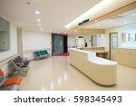 empty nurses station in a... | Shutterstock . vector #598345493