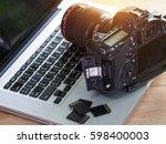 digital photography workstation ... | Shutterstock . vector #598400003