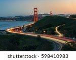 Golden Gate Bridge And Light...