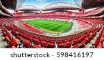 lisbon  portugal   february 18  ... | Shutterstock . vector #598416197