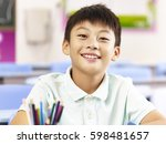 Portrait Of 11 Year Old Asian...