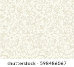 seamless light background with... | Shutterstock .eps vector #598486067