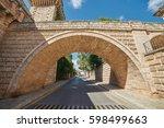 spanish village | Shutterstock . vector #598499663