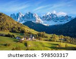 incredible landscape with the... | Shutterstock . vector #598503317