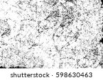 grunge black and white... | Shutterstock . vector #598630463
