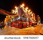 dublin  ireland   dec 28  a...   Shutterstock . vector #598700057