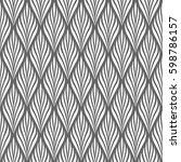 vector seamless pattern. modern ...   Shutterstock .eps vector #598786157