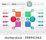 vector infographic of...   Shutterstock .eps vector #598941563
