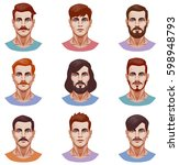 vector graphic illustration of...   Shutterstock .eps vector #598948793