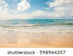 Exotic Sea Beach  Tropical...