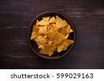 Nachos Chips. Delicious Salty...