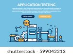 application programming and... | Shutterstock .eps vector #599042213