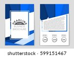 abstract vector layout... | Shutterstock .eps vector #599151467