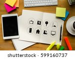 """using innovative technologies...   Shutterstock . vector #599160737"