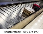 baggage claim at a modern... | Shutterstock . vector #599175197