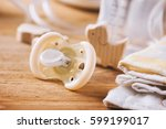 closeup new yellow baby... | Shutterstock . vector #599199017