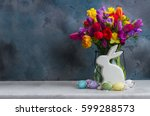 Spring Fresh Flowers With...