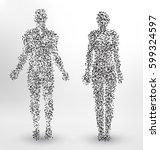 Abstract Molecule Based Human...