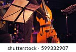 Contrabass Player Plays The...