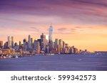 Downtown Manhattan Skyline At...