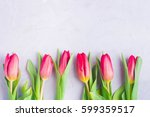 spring flowers holiday... | Shutterstock . vector #599359517