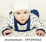 Little Cute Baby Toddler On...