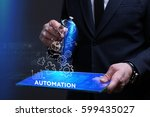 business  technology  internet... | Shutterstock . vector #599435027