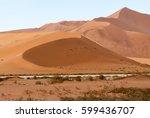 namib desert  namib naukluft... | Shutterstock . vector #599436707