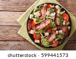Spicy Salad Of Bacon  Tomato ...