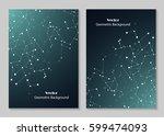 modern vector templates for... | Shutterstock .eps vector #599474093