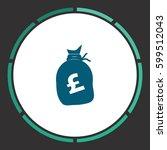 money icon vector. flat simple...
