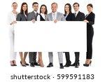 full length portrait of... | Shutterstock . vector #599591183
