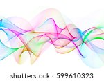 Abstract Multicolored Wavy...