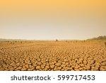 Global Warming. Dramatic Sunse...