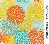 floral seamless pattern | Shutterstock .eps vector #59978692