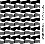 vector pattern. abstract... | Shutterstock .eps vector #599792657